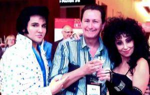 Elvis and Cher? [Photo by Author]