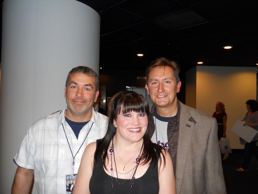 John, Katy, and Roy