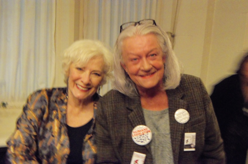 Betty Buckley and Susie Duncan Sexton