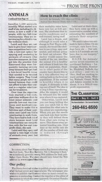 News Sentinel Coverage