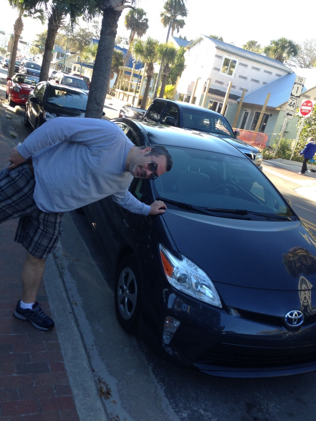 John and the travel Prius