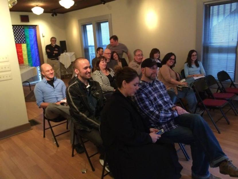 Book Launch Audience