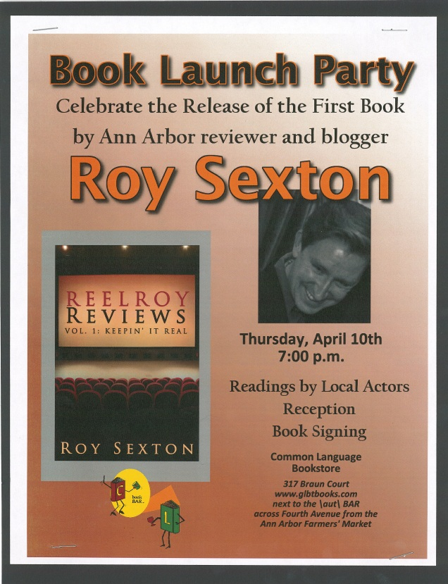 Book Launch Event Poster
