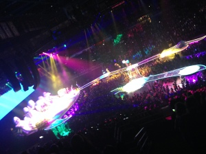 Her stage