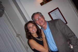 Benanti with my dad