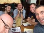 Jim, Kyle, Sean, and  John at Sidetracks