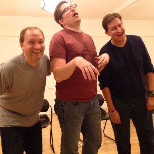 Zombie-fied Brent, Matt, & Roy