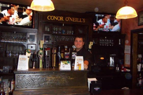 Conor O'Neill's bar