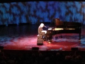 Newman at piano