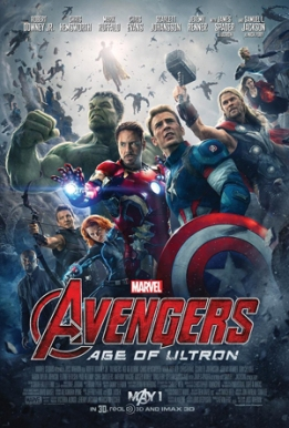 """""""Avengers Age of Ultron"""" by Source. Licensed under Fair use via Wikipedia - http://en.wikipedia.org/wiki/File:Avengers_Age_of_Ultron.jpg#/media/File:Avengers_Age_of_Ultron.jpg"""