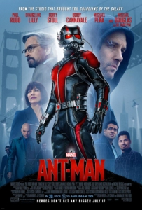 """Ant-Man poster"" by Source. Licensed under Fair use via Wikipedia - https://en.wikipedia.org/wiki/File:Ant-Man_poster.jpg#/media/File:Ant-Man_poster.jpg"