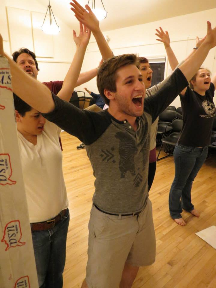 Brendan Kelly as Bobby with Ensemble - Photo by Gabby Rundall