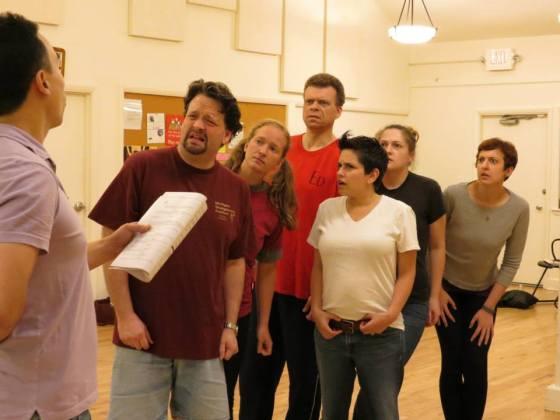 Ensemble - Daniel Bachelis, Jeff Stringer, Paige Martin, John DeMerell, Cathy McDonald, Christina McKim, Jenna Pittman