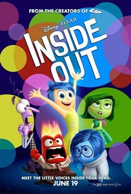 """""""Inside Out (2015 film) poster"""" by Source. Licensed under Fair use via Wikipedia - https://en.wikipedia.org/wiki/File:Inside_Out_(2015_film)_poster.jpg#/media/File:Inside_Out_(2015_film)_poster.jpg"""