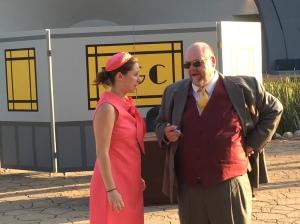 Maika Van Oosterhout and David Kiley
