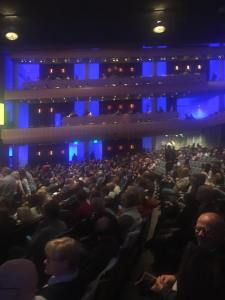 DeVos Performance Hall ... or the U.S.S. Enterprise?